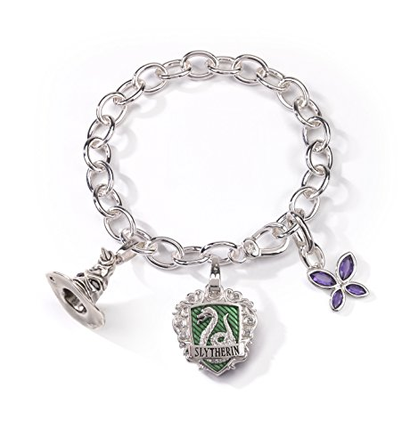 HARRY POTTER Slytherin Charm Bracelet
