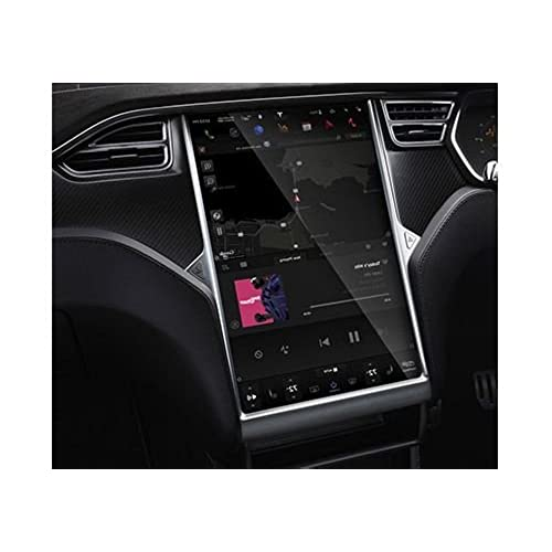Supershieldz for Tesla Model X and Model S Bubble Free 17 inch Tempered Glass Screen Protector Anti Scratch