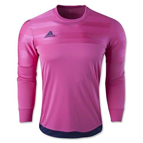 6ac9dcb151c Galleon - Adidas Performance Men's Entry 15 Goalkeeper Jersey, Pink, Youth  Large