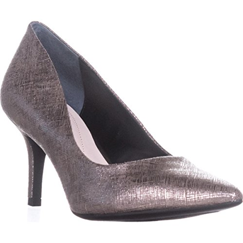 A35 Jeules Classic Pumps, Pewter Glitter, 7.5 US (Glitter Pewter)