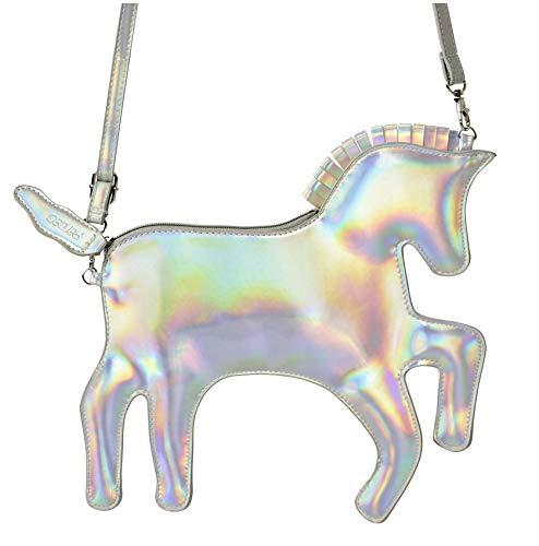 Unicorn Purse - Pardao Unicorn Bag Purse Handbag - Best Gift for Little Girls - Formal & Casual Shoulder Bag Clutch