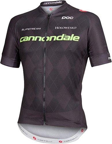Castelli Cannondale Team 2.0 Full-Zip Jersey - Men's Black, M