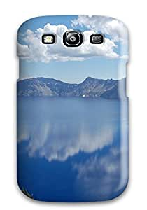 First-class Case Cover For Galaxy S3 Dual Protection Cover Crater Lake Oregon