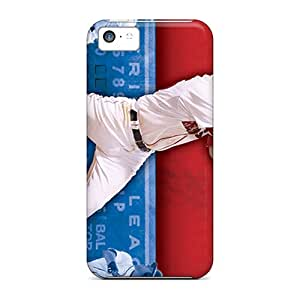 PhilHolmes Iphone 5c Shock Absorption Hard Cell-phone Cases Customized Trendy Boston Red Sox Pattern [GRi8357oQkV]