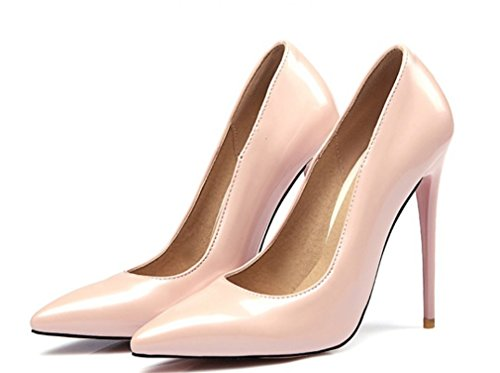 4 Punta Da Season Sposa Stiletto Beige Con A CLOVER Fashion Party Abiti Alti Donna Queen A A Donna Scarpe Tacchi Sandali Luxury LUCKY EU38 Scarpe Multicolor Dancing Aperta xZ1Oq7