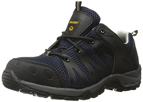 Wolverine Men's Amherst COMP Toe Trail Runner-M, Navy, 9.5 XW US