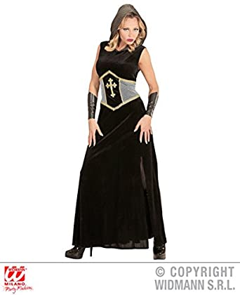 Xs Ladies Medieval Joan Of Arc Costume For Middle Dark Ages Fancy