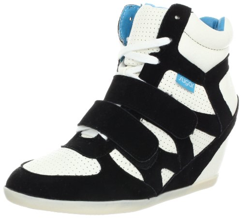 Sneaker Hyper Fashion Femme Noir / Blanc