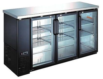 Amazon Wide Back Bar Swinging Glass Door Cooler Home Improvement