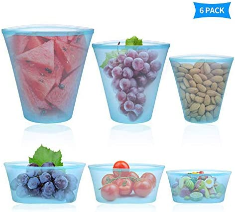 Roysmart Leakproof Containers Dishwasher Vegetables 6Pack