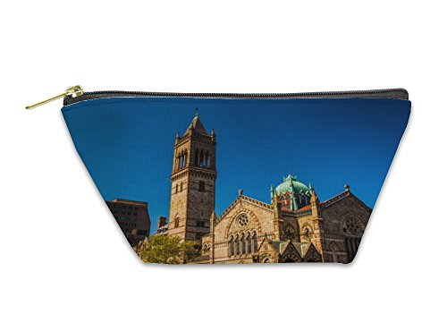 Gear New Accessory Zipper Pouch, Old South Church At Copley Square In Boston Massachusetts, Small, - At Copley Shops