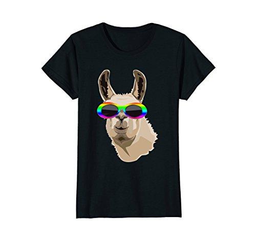 Womens Llama Clout Goggles Shirt: Llama EDM Hip Hop Rappers T-shirt Medium - Clout Goggles Amazon