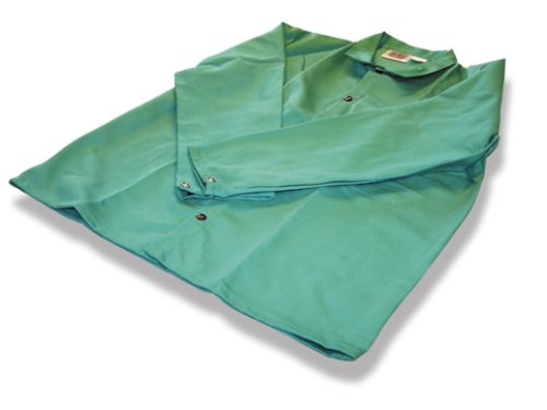 US Forge 99423 Flame Retardant Jacket, XXXL, Green