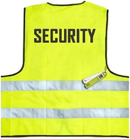 WARNWESTE PENTAGON 2 x SECURITY