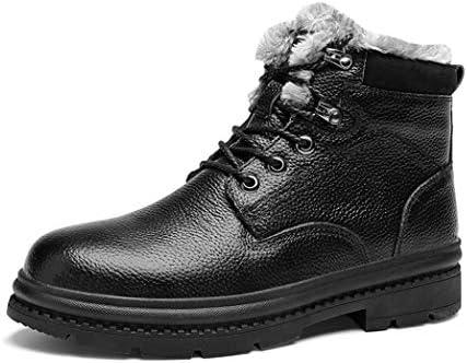 アウトドア ブーツ ワークブーツ メンズ 滑り止め ショートブーツ 革靴 マーティンブーツ 作業靴 ミリタリーブーツ 登山靴 耐摩耗 防寒 スノーブーツ トレッキングシューズ 裏起毛 カジュアルシューズ