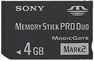 Sony Memory Stick PRO Duo Flash Memory Card by Sony