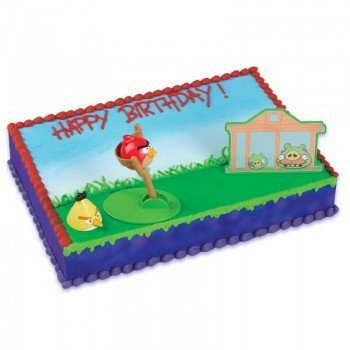 Angry Birds Birthday Cake Kit by Bakery Crafts