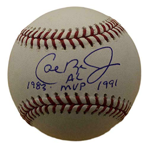 Cal Ripken Jr. Signed Baseball - OML AL MVP 13466 - JSA Certified - Autographed Baseballs
