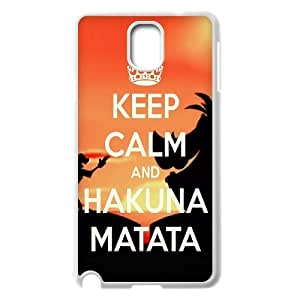 JenneySt Phone CaseHakuna Matata Quotes,Lion King For Samsung Galaxy NOTE3 Case Cover -CASE-2