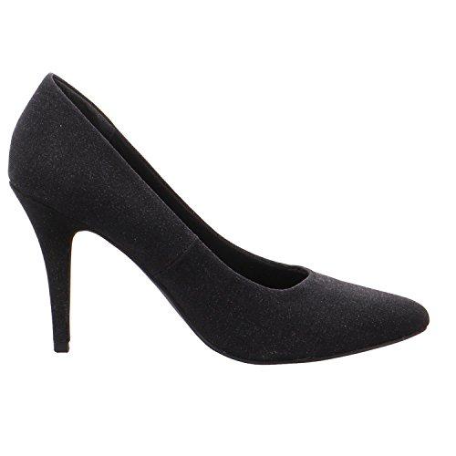 Marco Tozzi Women's 2-2-22405-25/033-033 Court Shoes 033BLACK METALLIC PeNHm