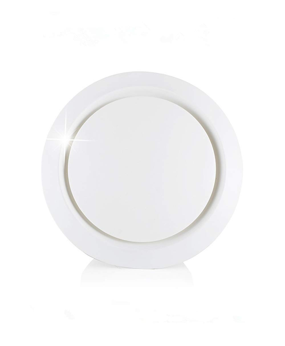 ABS Air Vent, H&L Adjustable ABS Air Vents Wall Ceilling Cover Soffit Vents for House(6 inch)