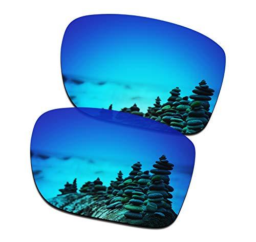 SmartVLT Men's Ice Blue Replacement Lenses for Oakley Holbrook Metal OO4123 Sunglass (Kostenlose Oakleys)