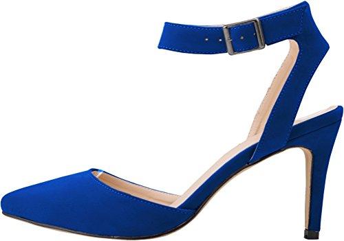 Caviglia Alla Con Scarpe Donna Blue Cfp Cinturino wHAIT6q