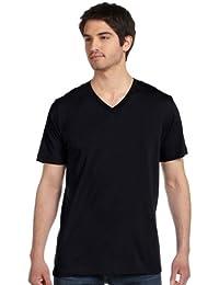 "<span class=""a-offscreen"">[Sponsored]</span>+ Canvas - Unisex Short Sleeve V-Neck Jersey Tee - 3005"