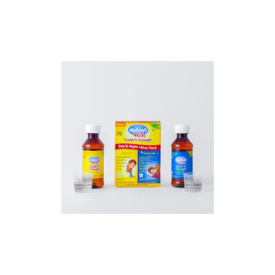 Hyland's 4 Kids Cold and Cough Day and Night Value Pack