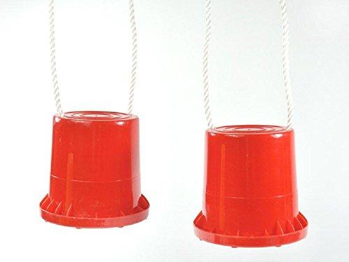 Topfstelzen Eimerstelzen Laufdollis Stelzen Kindergarten 80kg belastbar (1Paar farbe zufällig)