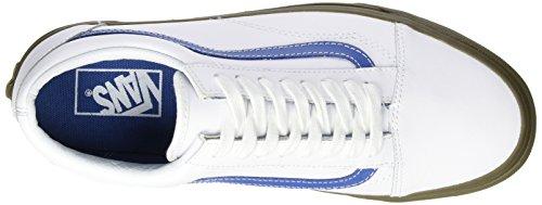 Vans bleacher Zapatillas Hombre Blanco Entrenamiento Old De Skool Para r6zrRf