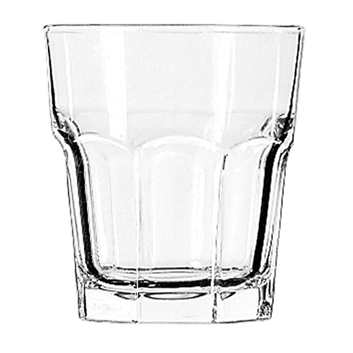 Libbey Glassware 15243 Gibraltar Cooler Glass, Duratuff, 12 oz. (Pack of 36)