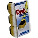 Dish Matic non scratch Refills x3 by Dishmatic