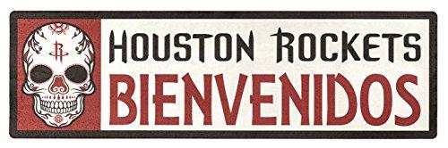 Applied Icon, NBA Houston Rockets Bienvenidos Outdoor Step Graphic Decal