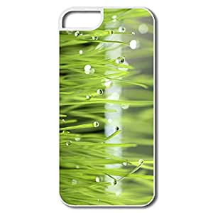 IPhone 5S Cases, Grass Dew White Cover For IPhone 5/5S
