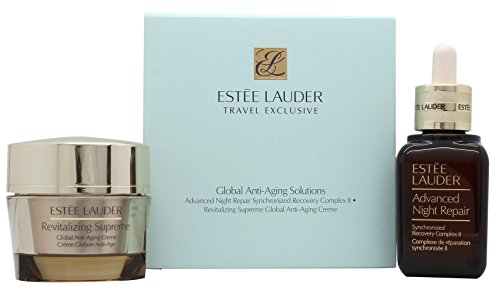 Estee Lauder Gift Set 1.7oz (50ml) Advanced Night Repair Face Serum + 1.7oz (50ml) Revitalizing Supr