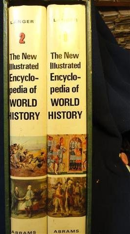 The new illustrated encyclopedia of world history (An Encyclopedia Of World History William Langer)