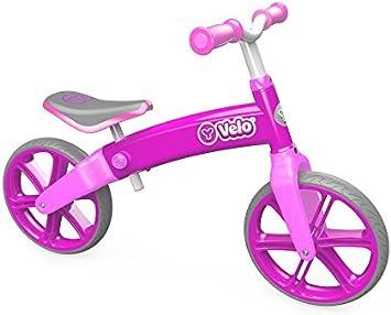 YVolution Velo Bicicleta Sin Pedales, Unisex niños, Rosa, M ...