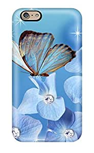 Free Walking Glitter Flower Feeling Iphone 6 On Your Style Birthday Gift Cover Case by runtopwell