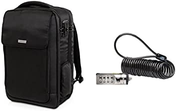 Kensington SecureTrek 17-Inch Laptop Backpack   Kensington Portable  Combination Laptop Lock 6be2ef3ce4f15