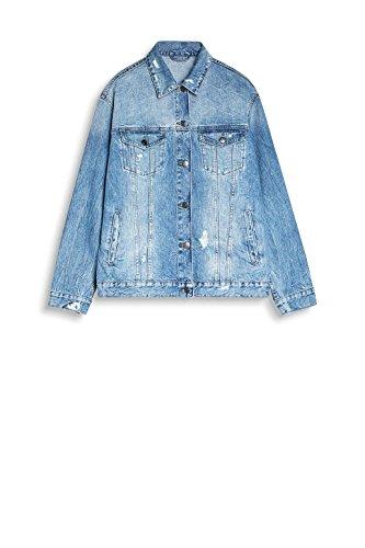 Medium Di Blu 902 Wash Giacca Jeans blue Donna Esprit nq4xYav5v