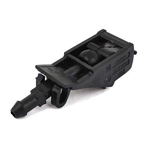 Black Car Window Windshield Washer Spray Nozzle: