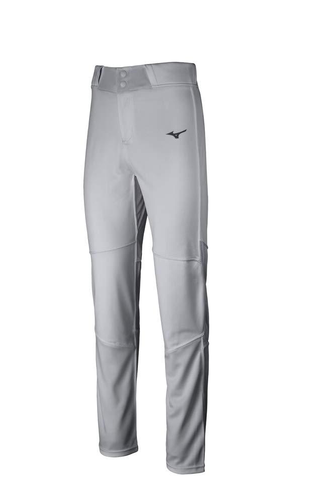 Mizuno Aero Vent Baseball Pant, Grey, Medium by Mizuno