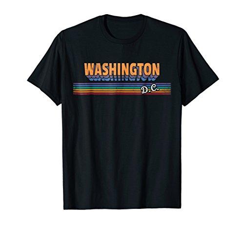 Washington DC Shirt Retro Souvenirs T-Shirt Men