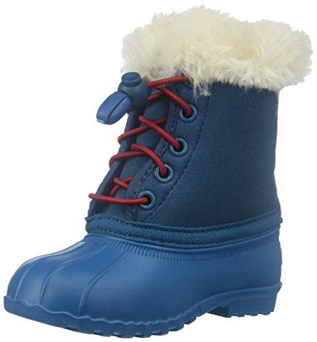 Native Shoes Kids' Jimmy Winter Child-K Slip-On, Midnight Blue, 6 Toddler M US (Boots Shoes Jimmy Native)