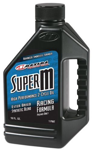 Maxima 20916 Super-M 2-Stroke Premix Oil - 16 oz. Bottle