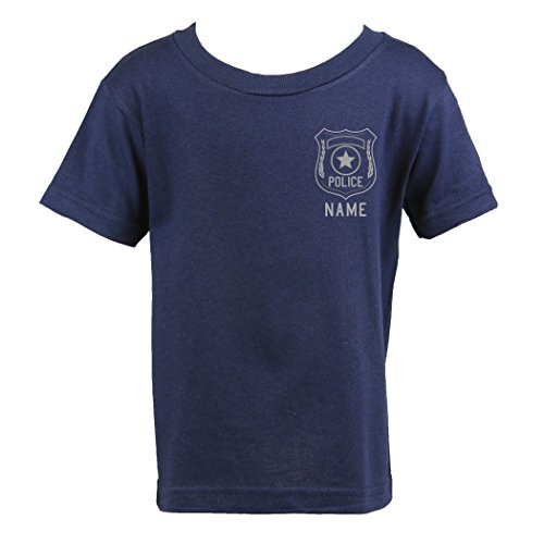 Fully Involved Stitching Personalized Police Shirt with Badge