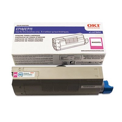 Oki 44318602 - Oki Toner Cartridge - Magenta - LED - 11500 Page - 1 (C711n Led Printer)