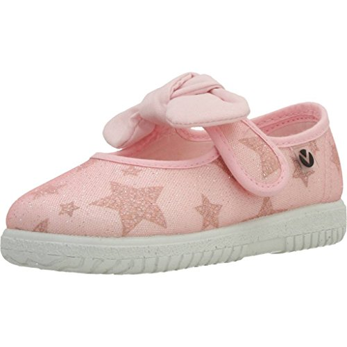 Victoria Mercedes Lurex Estrellas, Zapatillas Unisex Niños Rosa