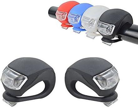 Kit de 2 focos con luz LED para bicicleta: Amazon.es: Deportes y ...